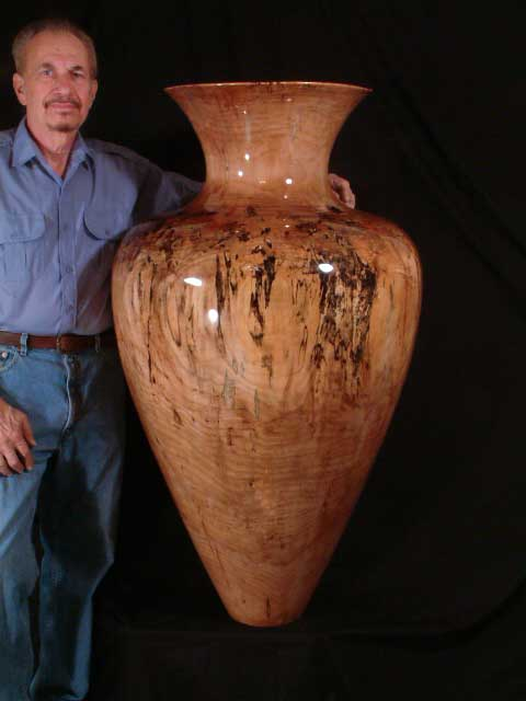 Large Vase with Al Fried